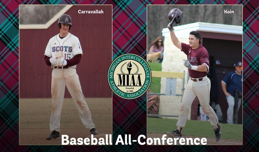 Koin and Carravallah Grab Their First All-MIAA Honors