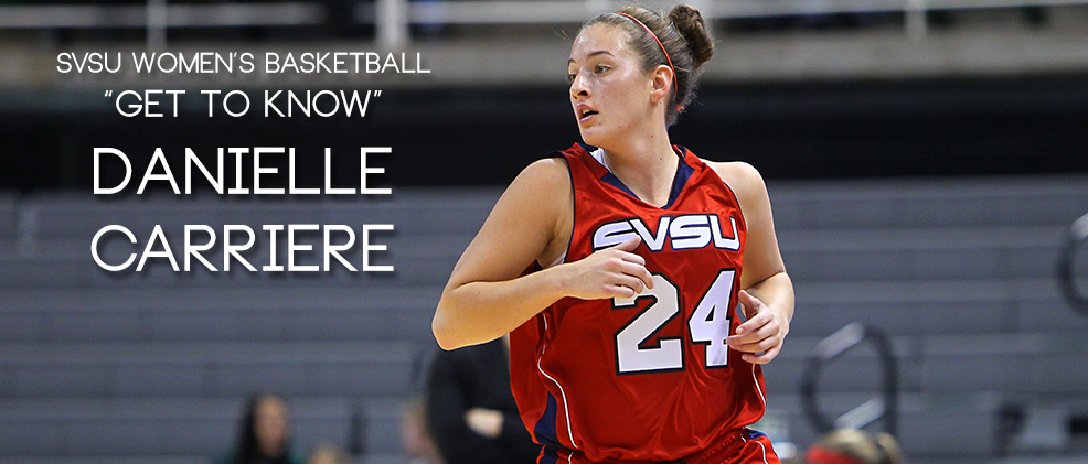 SVSU Women's Basketball 'Get to Know': Danielle Carriere