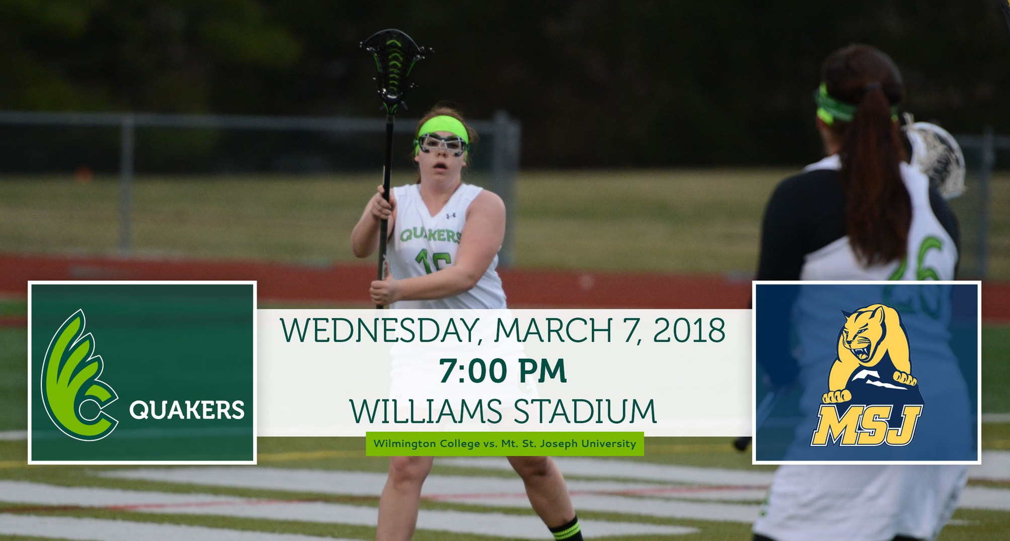 Women's Lacrosse Faces Off Against Mt. St. Joseph on Wednesday