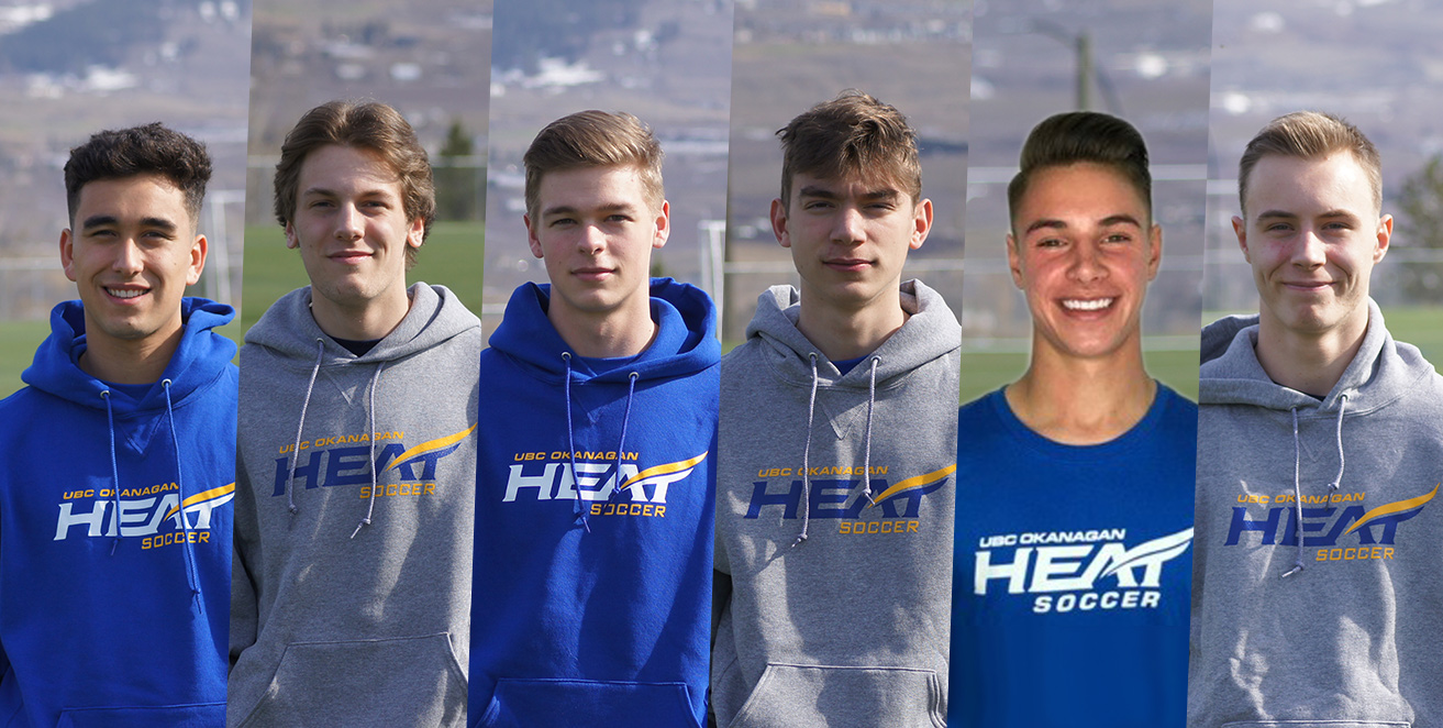 Heat men's soccer bring on six strong players for 2019
