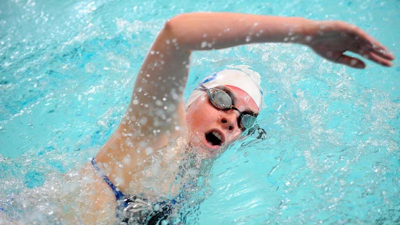 Swim & Dive Competes in 2nd Day at Bucknell