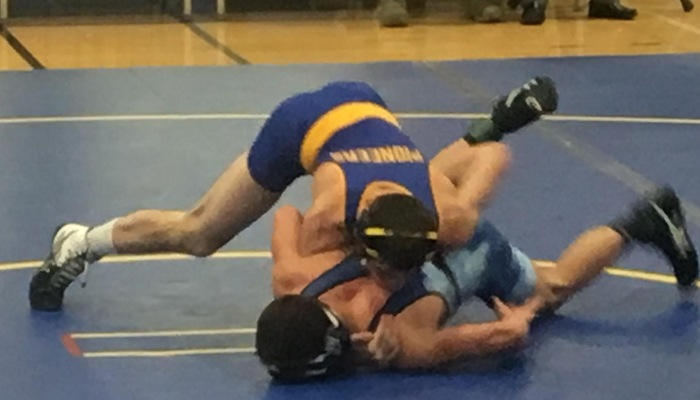 Patrick Lehman with control of his opponent