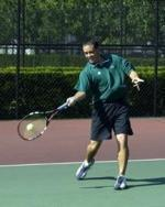 Men's Tennis Edges Out Wright State, 4-3