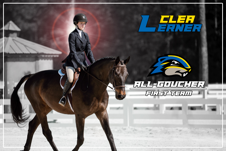 Lerner Earns All-Goucher First Team Honors Following Stellar Year