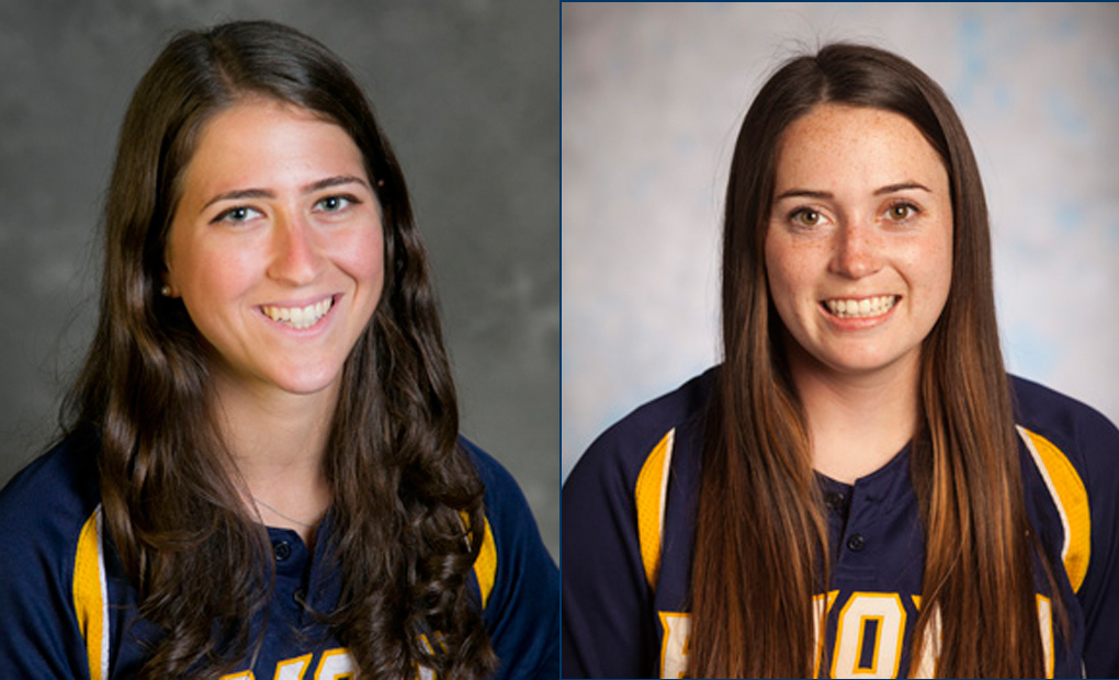 Softball Standouts Forte & File Earn Academic All-America Honors