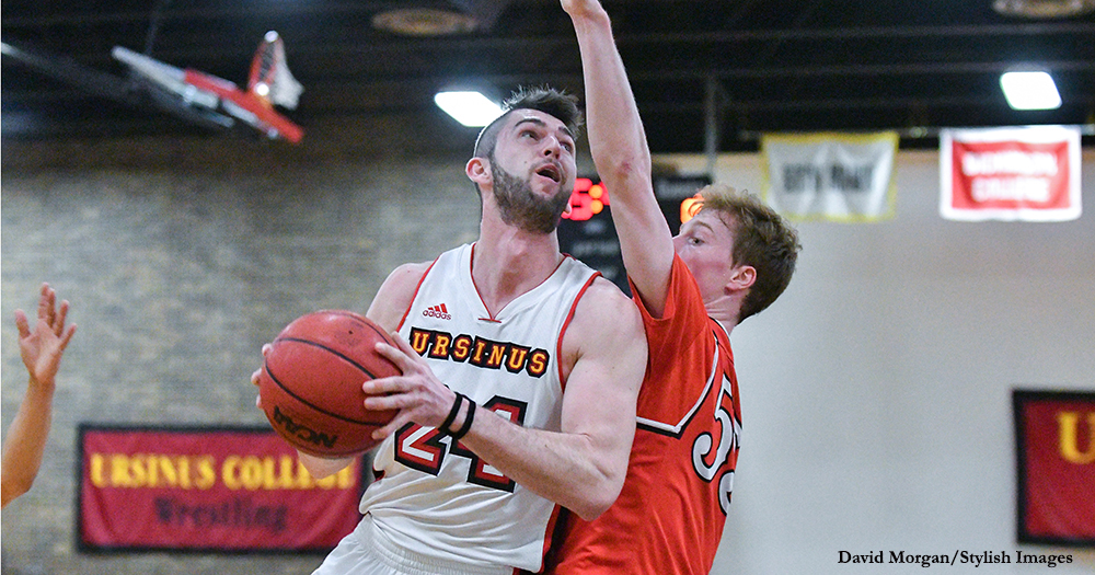 Men's Basketball Edges Dickinson in Playoff Opener