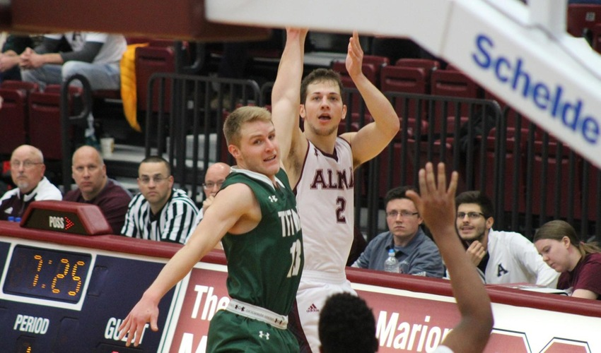 Big Second Half Sends Scots Past Hornets