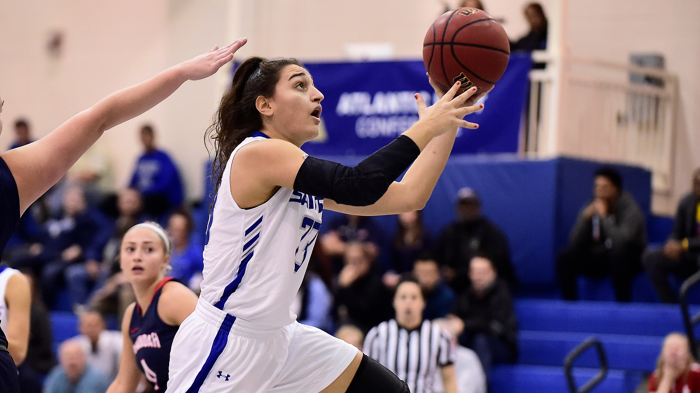 Women's basketball continues winning ways with 87-43 victory over Griffins