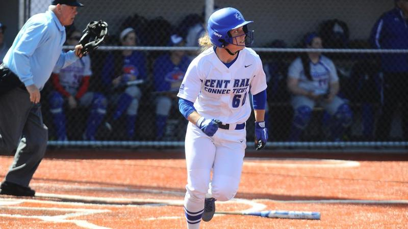 Softball Shuts Out SFU for Split Friday