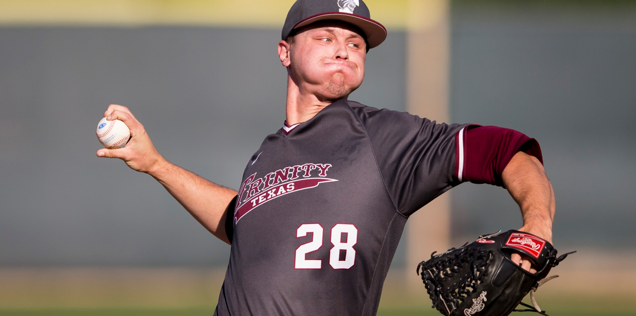 Dylan McGee, Trinity University, Pitcher of the Week (Week 12)