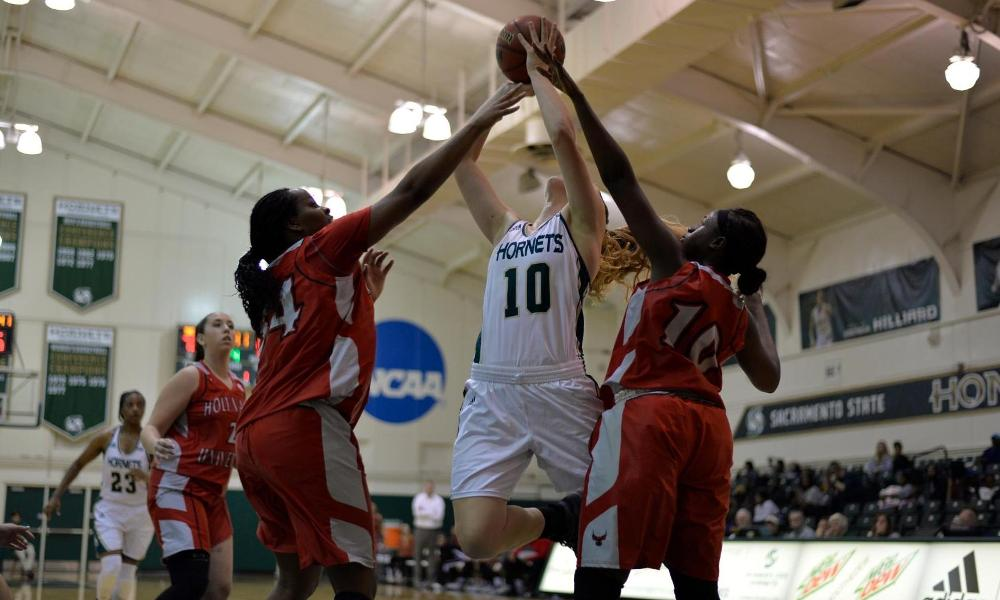 WOMEN'S BASKETBALL SCORES 92-55 EXHIBITION WIN OVER HOLY NAMES