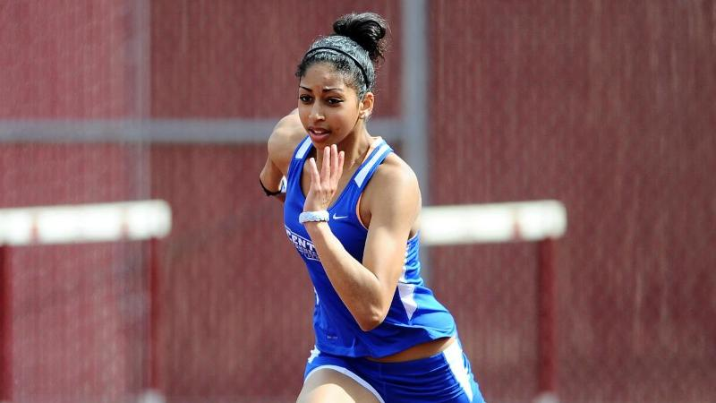 Saunders 2x NEC Field Athlete of the Week