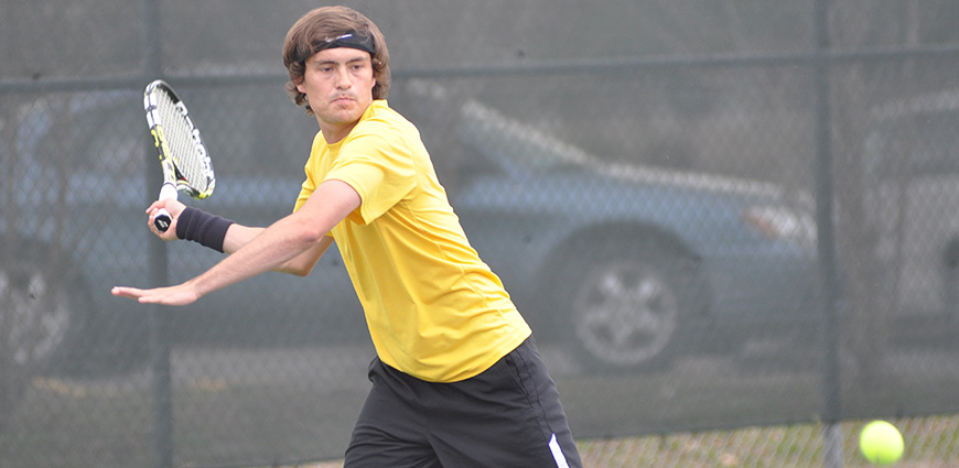 Men's Tennis Team Tops Westminster 9-0