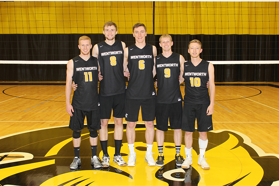 Men's Volleyball Claims Top Seed in GNAC Tournament