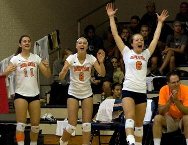 Eagles drop five set match to Tusculum