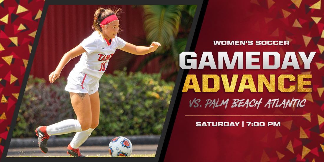 Tampa Women's Soccer Set to Welcome Palm Beach Atlantic