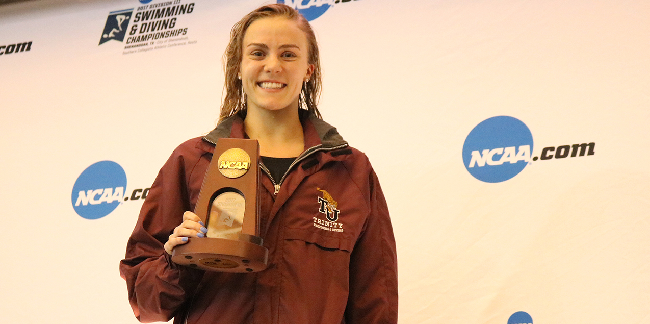Trinity's Hagmann Earns All-American Finish on Final Day of NCAA Championships