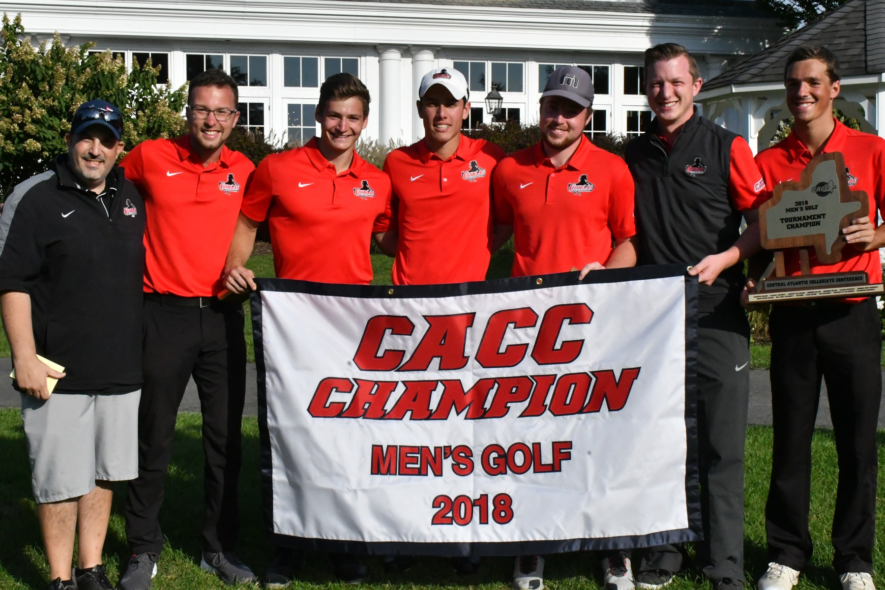CHARGERS WIN CACC GOLF CHAMPIONSHIP