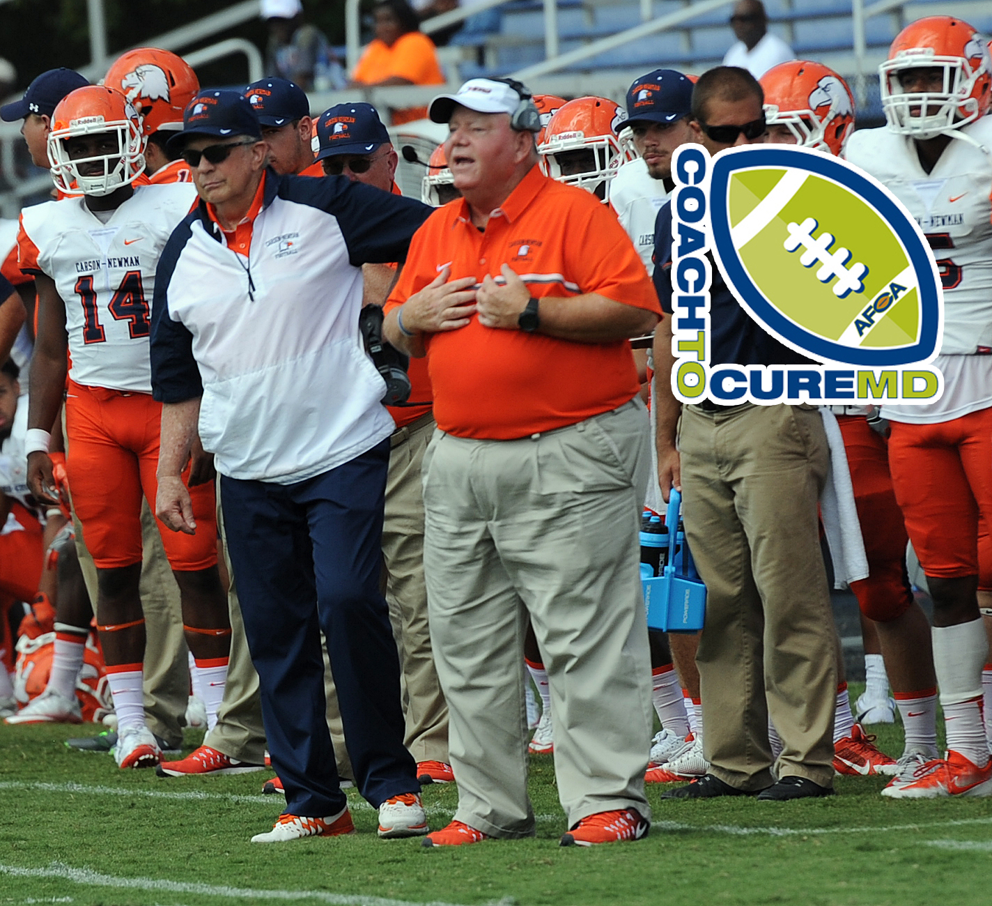 Carson-Newman football to participate in Coach To Cure MD week