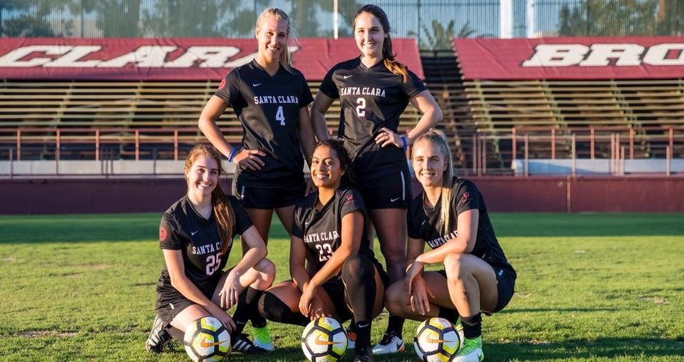 Women's Soccer Plays BYU on Senior Day with WCC Crown Still in Reach