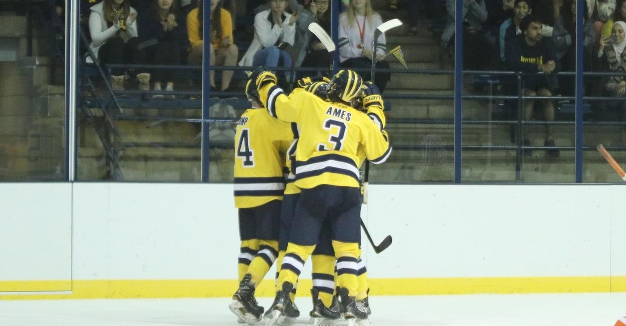 Wolverines hold on for 4-3 win on Homecoming