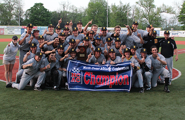 Tigers Win Fourth Straight Elimination Game; Claim NCAC Tournament Title and NCAA Postseason