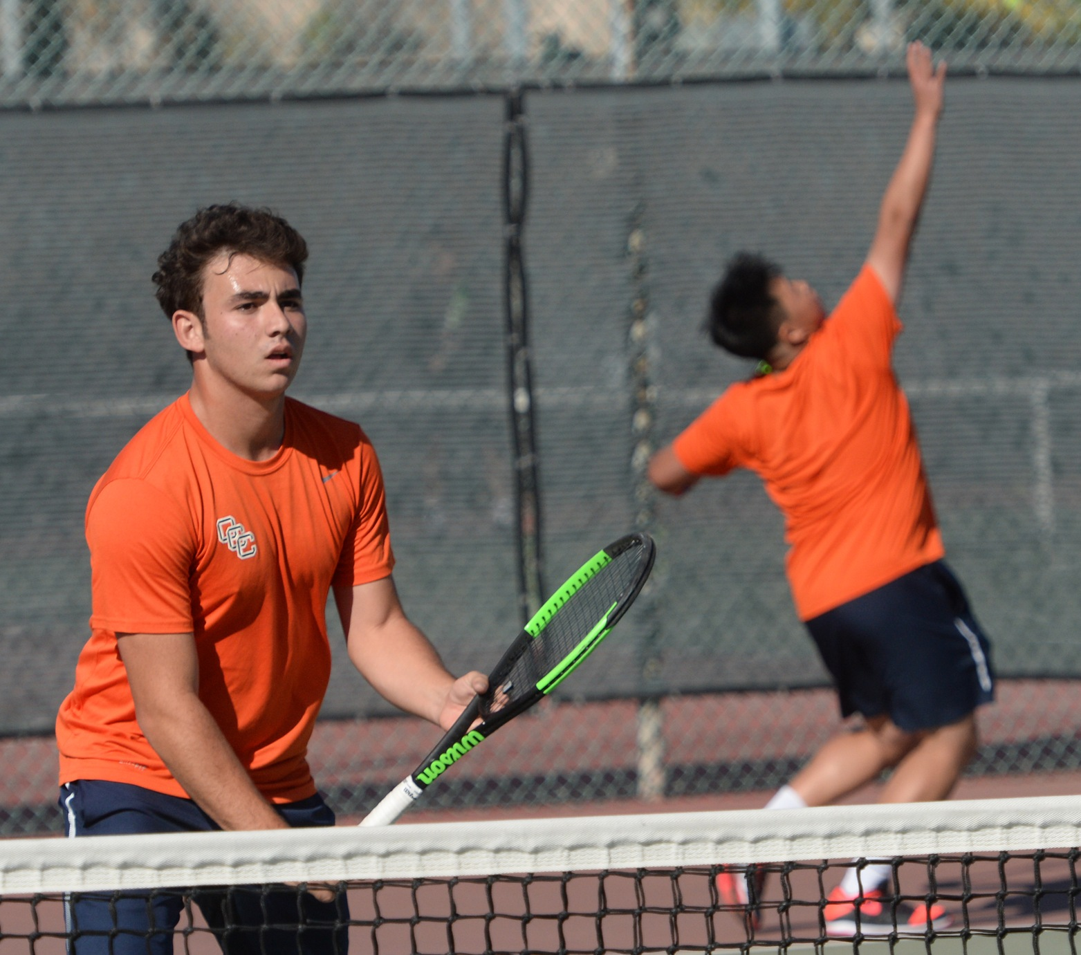 Pirate men's tennis top Hornets, fall to Gauchos to wrap up season