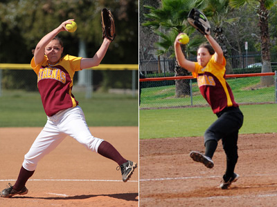 Athenas Take Two from Cal Lutheran