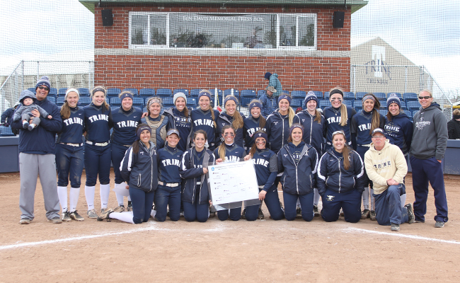 Trine Claims Second NCAA Division III Softball Regional Title
