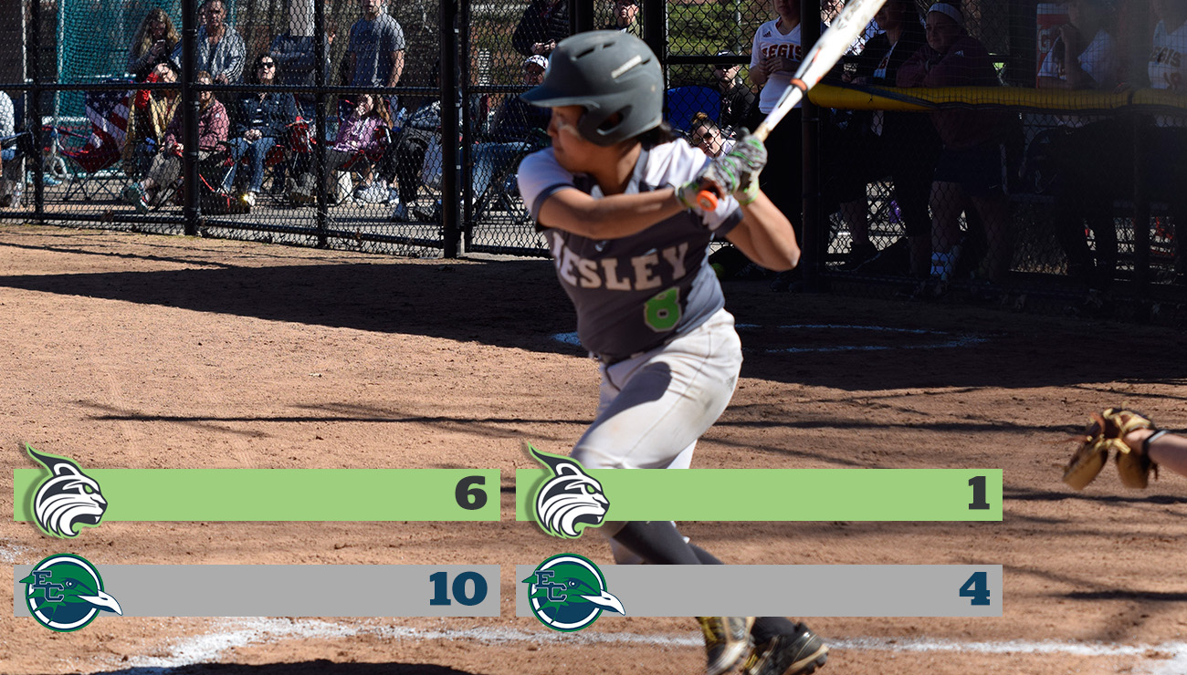 Softball Drops Non-Conference Doubleheader To Gulls