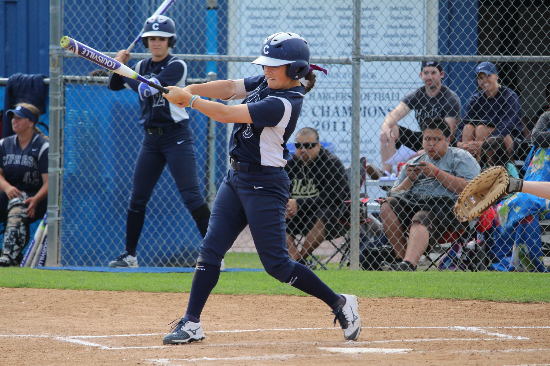 No. 2 Softball Notches 21st Consecutive Victory with 8-0 Win Over Orange Coast