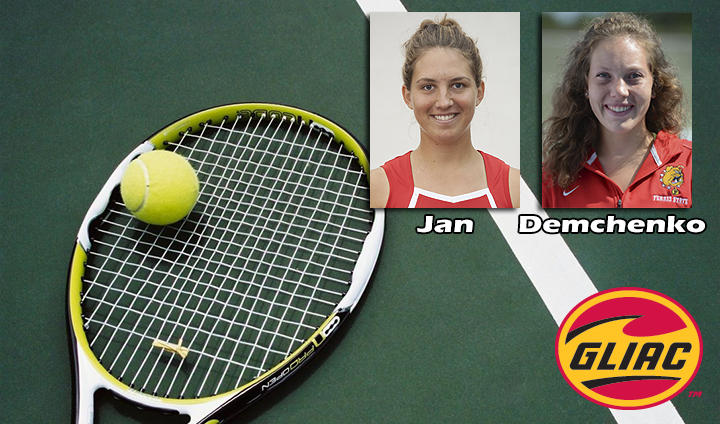 Two Ferris State Women's Tennis Players Claim All-GLIAC Laurels