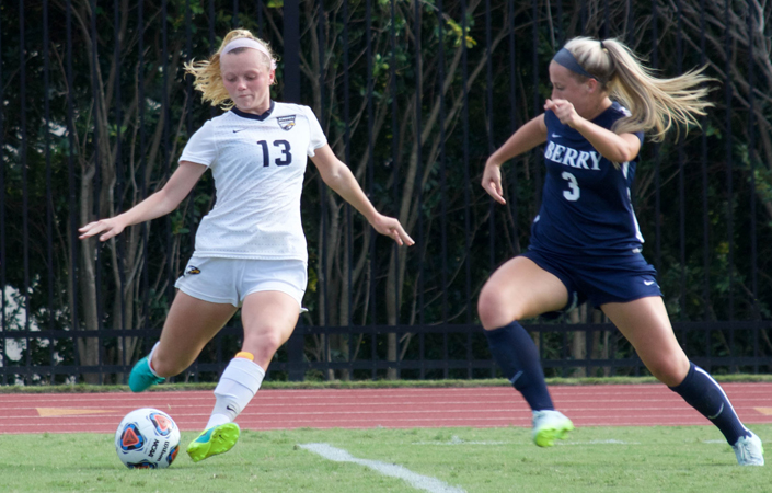 Emory Women's Soccer Tripped Up by #13 Christopher Newport, 2-1, in OT