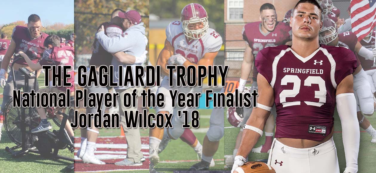 Wilcox Selected As One Of Four National Finalists For The Gagliardi Trophy