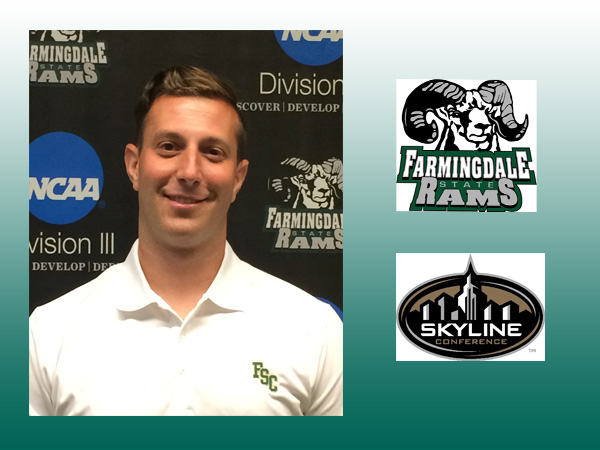 David Mayerson Named Head Women's Volleyball Coach at Farmingdale State