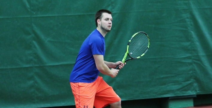Men's Tennis nets non-conference win over Lawrence