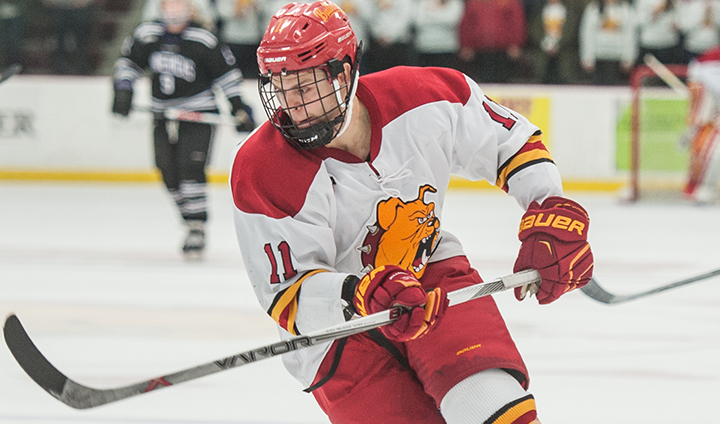 Darren Smith Shuts Out Michigan Tech As Ferris State Advances To WCHA Championship