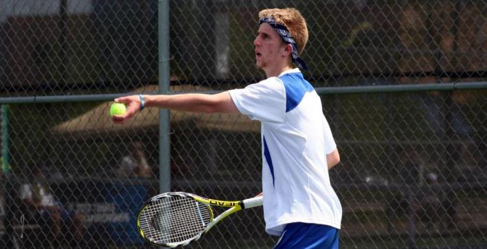Men's Tennis earns first win of season over Dubuque