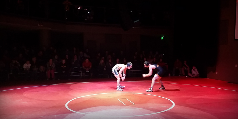 Storm wrestlers split on opening night in unique venue