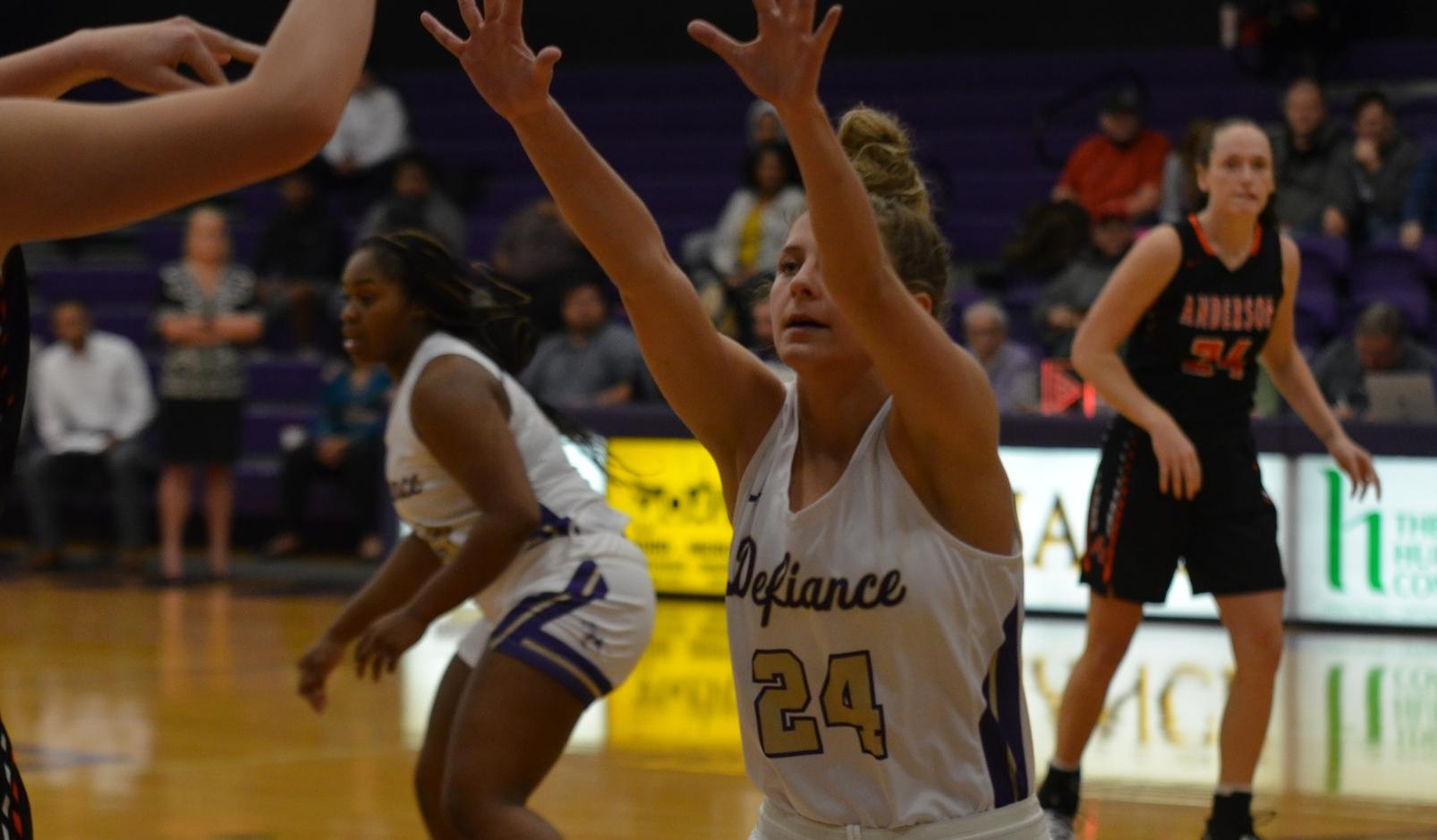 Women's basketball drops home contest to Franklin