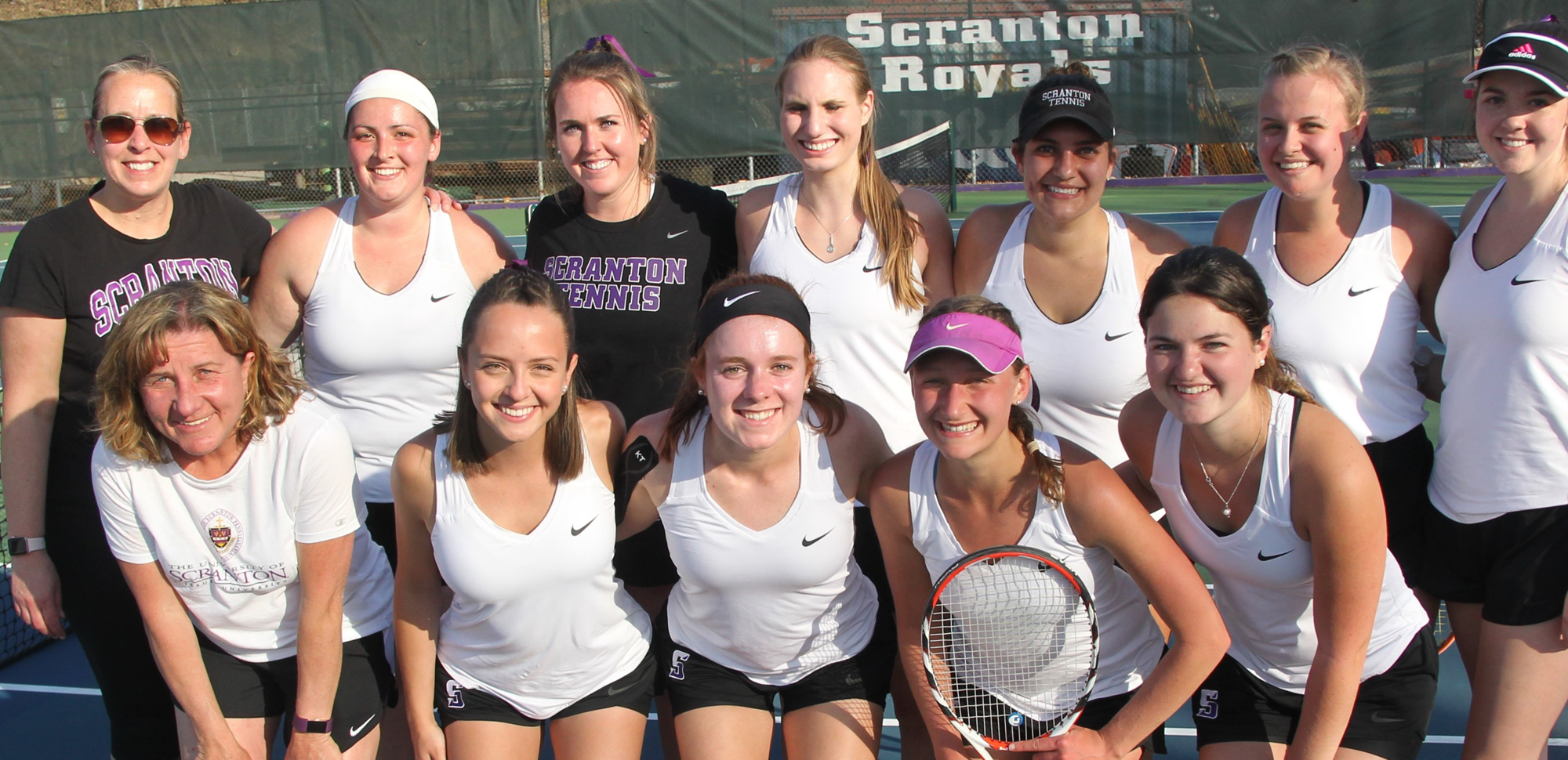 The women's tennis team, which fell to Williams in the second round of the NCAA Tournament on Friday, shattered a program record with 19 victories in the 2017-18 season.