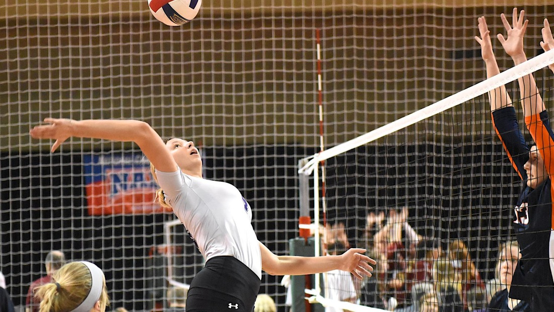 Mikaylah Gillespie racked up 31 kills on .321 hitting to help BU to a pair of wins on Friday at the Evangel Classic