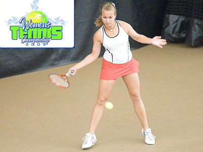 Junior Amy Ingle helped FSU to a victory in Sunday's fifth-place match