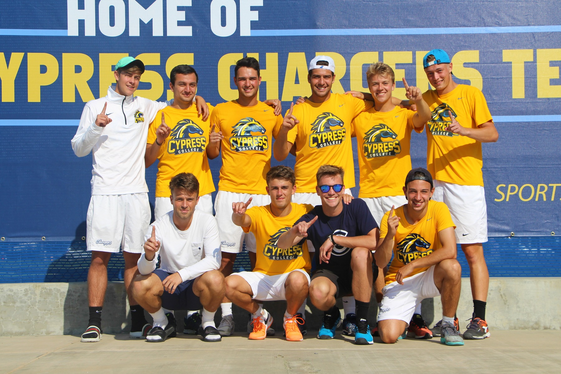 No. 4 Men's Tennis Grab Share of OEC Title