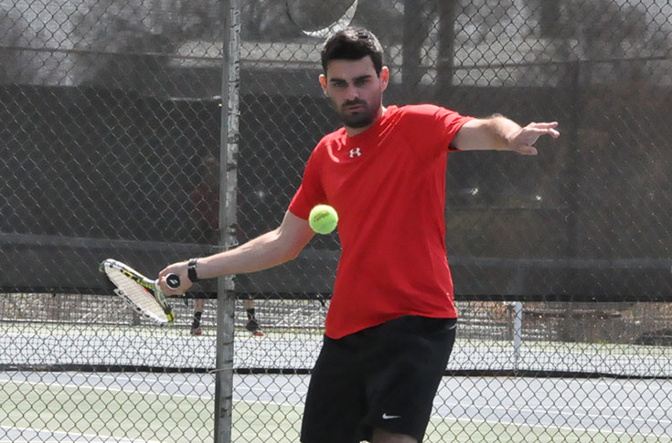 Men's Tennis: Panthers sweep Greensboro 9-0 in USA South match