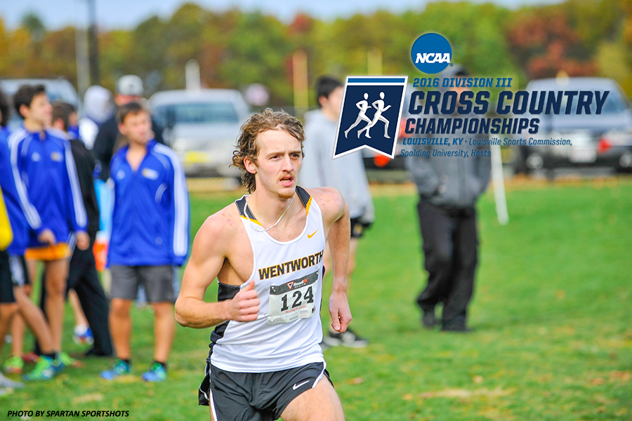 Junior Dan McSolla is the first Wentworth cross country runner to be selected to participate at the NCAA Division III Championships