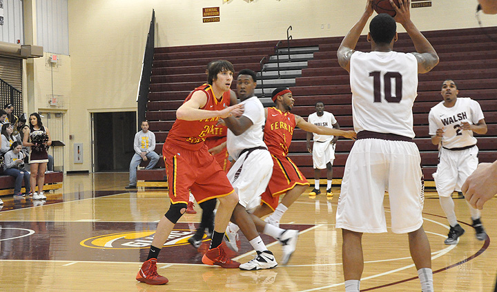 Ferris State Comes Up Short In Road Tilt At GLIAC South Division Leader