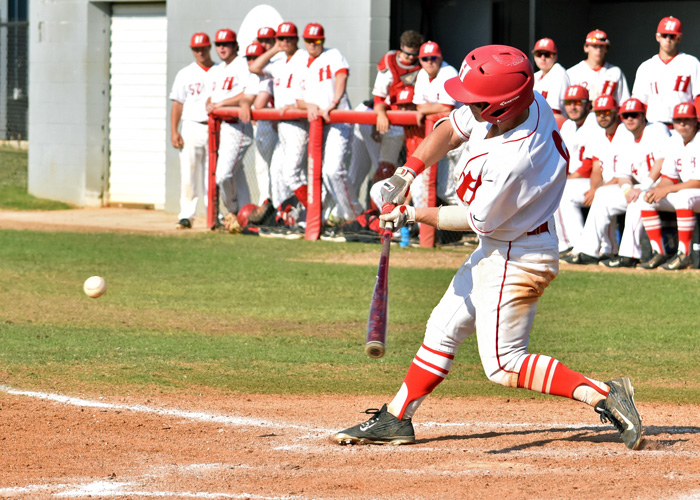 Alec Raley was 2-for-4 with a run and two stolen bases in Friday's loss to Methodist.