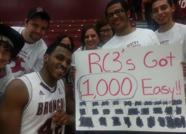 Broncos Down Pepperdine 70-60; Cowels III scores his 1,000th Career Point