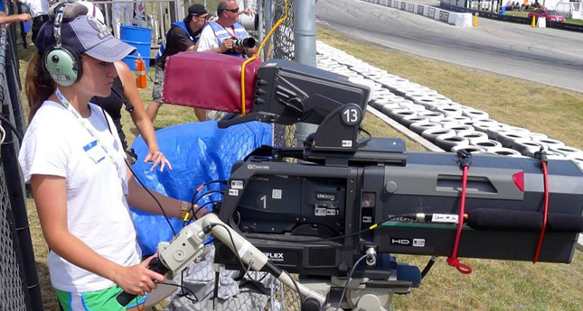 LC's Shea Kelley Has Best View in the House at Sports Car Racing Series